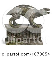 Clipart 3d Stone Gargoyle Statue 1 Royalty Free CGI Illustration by Ralf61