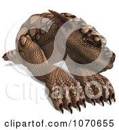 Clipart 3d Tan Gargoyle 2 Royalty Free CGI Illustration