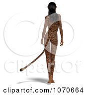 Clipart 3d Sexy Jaguar Woman 6 Royalty Free CGI Illustration by Ralf61