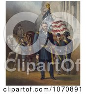 Illustration Of General Ulysses S Grant Royalty Free Historical Clip Art