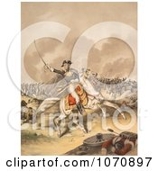 Illustration Of General Andrew Jackson Battle Of New Orleans Royalty Free Historical Clip Art by JVPD