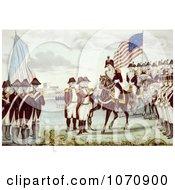 Surrender Of Cornwallis At Yorktown Virginia 1781