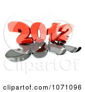 3d Red 2012 On 2011