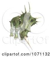 Clipart 3d Prehistoric Ceratopsian Styracosaurus Dinosaur 10 Royalty Free CGI Illustration by Ralf61
