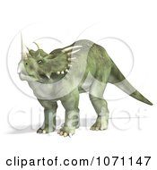 Clipart 3d Prehistoric Ceratopsian Styracosaurus Dinosaur 11 Royalty Free CGI Illustration by Ralf61