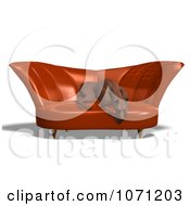 Clipart 3d Miniature Pinscher Dog Resting In A Chair Royalty Free CGI Illustration by Ralf61