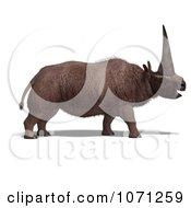 3d Prehistoric Elasmotherium Steppe Rhiniceros Dinosaur 10