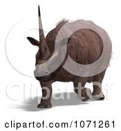 3d Prehistoric Elasmotherium Steppe Rhiniceros Dinosaur 8