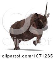 3d Prehistoric Elasmotherium Steppe Rhiniceros Dinosaur 4