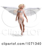 Clipart 3d Angel Or Fairy Floating In A Bikini Royalty Free CGI Illustration by Ralf61
