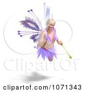 Clipart 3d Romance Love Fairy Flying 5 Royalty Free CGI Illustration