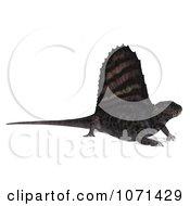 Clipart 3d Prehistoric Dimetrodon Dinosaur Lizard 17 Royalty Free CGI Illustration