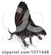 3d Prehistoric Dimetrodon Dinosaur Lizard 2