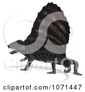 3d Prehistoric Dimetrodon Dinosaur Lizard 3