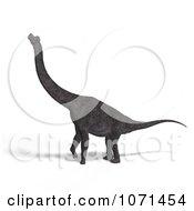 Clipart 3d Prehistoric Brachiosaurus Dinosaur 25 Royalty Free CGI Illustration
