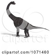 Clipart 3d Prehistoric Brachiosaurus Dinosaur 29 Royalty Free CGI Illustration by Ralf61