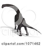 Clipart 3d Prehistoric Brachiosaurus Dinosaur 31 Royalty Free CGI Illustration by Ralf61