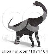 Clipart 3d Prehistoric Brachiosaurus Dinosaur 1 Royalty Free CGI Illustration by Ralf61