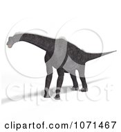 Clipart 3d Prehistoric Brachiosaurus Dinosaur 3 Royalty Free CGI Illustration by Ralf61