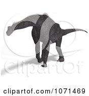 Clipart 3d Prehistoric Brachiosaurus Dinosaur 10 Royalty Free CGI Illustration by Ralf61