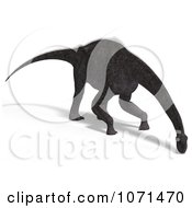 Clipart 3d Prehistoric Brachiosaurus Dinosaur Grazing 1 Royalty Free CGI Illustration by Ralf61
