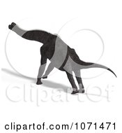 Clipart 3d Prehistoric Brachiosaurus Dinosaur 9 Royalty Free CGI Illustration by Ralf61