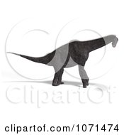 Clipart 3d Prehistoric Brachiosaurus Dinosaur 12 Royalty Free CGI Illustration by Ralf61