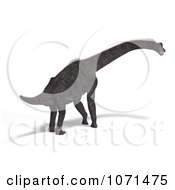 Clipart 3d Prehistoric Brachiosaurus Dinosaur 13 Royalty Free CGI Illustration by Ralf61