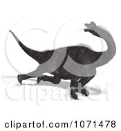 Clipart 3d Prehistoric Brachiosaurus Dinosaur Falling Down 2 Royalty Free CGI Illustration by Ralf61