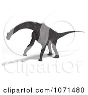 Clipart 3d Prehistoric Brachiosaurus Dinosaur 16 Royalty Free CGI Illustration by Ralf61