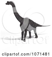 Clipart 3d Prehistoric Brachiosaurus Dinosaur 17 Royalty Free CGI Illustration by Ralf61
