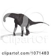 Clipart 3d Prehistoric Brachiosaurus Dinosaur 19 Royalty Free CGI Illustration by Ralf61