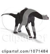 Clipart 3d Prehistoric Brachiosaurus Dinosaur 8 Royalty Free CGI Illustration by Ralf61