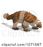 Clipart 3d Prehistoric Ankylosaurus Dinosaur 1 Royalty Free CGI Illustration by Ralf61
