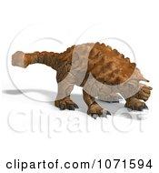 Clipart 3d Prehistoric Ankylosaurus Dinosaur 6 Royalty Free CGI Illustration by Ralf61