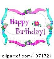 Happy Birthday Hibiscus Greeting