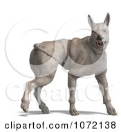 Clipart 3d Rhino Like Alien Dog Royalty Free CGI Illustration by Ralf61