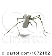 Clipart 3d Praying Mantis Bug 2 Royalty Free CGI Illustration