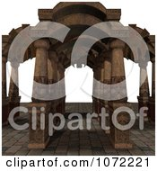 Clipart 3d Medieval Fantasy Pathway 3 Royalty Free CGI Illustration