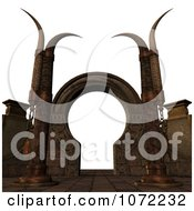 Clipart 3d Medieval Fantasy Pathway 2 Royalty Free CGI Illustration