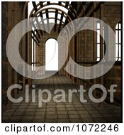 Clipart 3d Medieval Fantasy Pathway 1 Royalty Free CGI Illustration