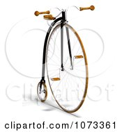 Clipart 3d Old Fashioned Penny Farthing Bicycle 1 Royalty Free CGI Illustration by Ralf61