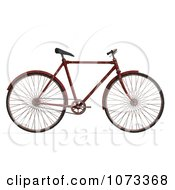 3d Rusty Old Bicycle 1
