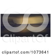 Clipart 3d Scenic Waterscape Landscape Panoramic 1 Royalty Free CGI Illustration