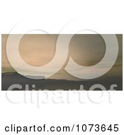 Clipart 3d Scenic Waterscape Landscape Panoramic 5 Royalty Free CGI Illustration