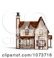 Clipart 3d Medieval Cottage 1 Royalty Free CGI Illustration by Ralf61