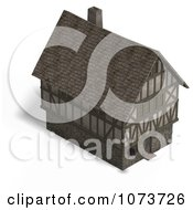 Clipart 3d Large Medieval House 3 Royalty Free CGI Illustration by Ralf61