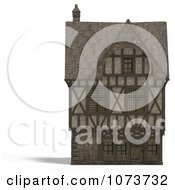 Clipart 3d Large Medieval House 9 Royalty Free CGI Illustration by Ralf61