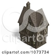 Clipart 3d Large Medieval House 11 Royalty Free CGI Illustration by Ralf61