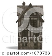 Clipart 3d Large Medieval House 13 Royalty Free CGI Illustration by Ralf61